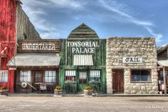 Old West store fronts in Ogallala, Nebraska.Zippertravel.com Digital Edition