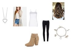 """""""Caroline Matthews Outfit #26"""" by amazingness-of-fashion ❤ liked on Polyvore featuring Lounge Lover, Forever 21, dVb Victoria Beckham, River Island and Tiffany & Co."""