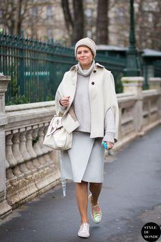 Elisa Nalin Street Style Street Fashion Streetsnaps by STYLEDUMONDE