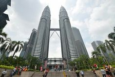 The Petronas tower is the most iconic landmark of Kuala Lumpur. It is also adjacent to beautiful KLCC park.