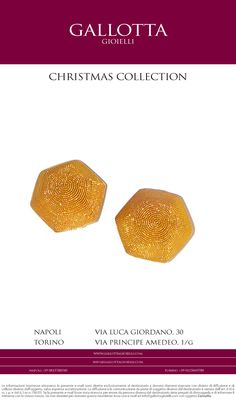Earrings Gold filigrana