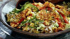 Rezept: Gebratener Reis mit Gemüse