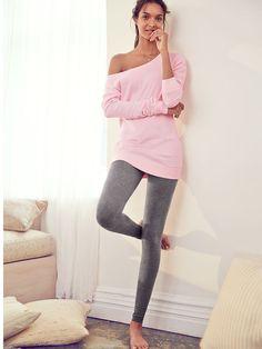 Fleece Off-the-Shoulder Tunic - Victoria's Secret from Victoria's Secret