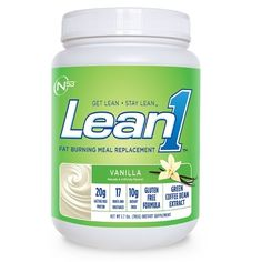 LEAN1 FAT BURNING MEAL REPLACEMENT 2 LB - Vanilla, $33.99