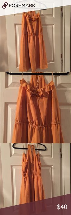 NWOT BCBGeneration Dress BCBGeneration Dress. Mustard/deep gold color. Really cute, can be dressed up or down. Never worn. BCBGeneration Dresses