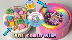 SLIME GIVEAWAY! Win Slimes & Goodies to our fast growing SLIME SHOP! Free Slime, Miss You Guys, Slime Shops, I Dont Have Time, Fast Growing, Positive Attitude, Giveaway, Goodies, Sweet Like Candy