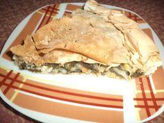 How to make a healthy Greek Spinach pie(Spanakopita)