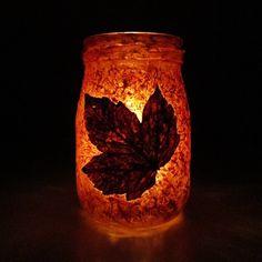 Podzimní svícny | Moje mozkovna