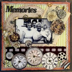 Memories in Time - Scraps of Darkness - Scrapbook.com