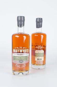 Wayward Whiskey Logo & Packaging