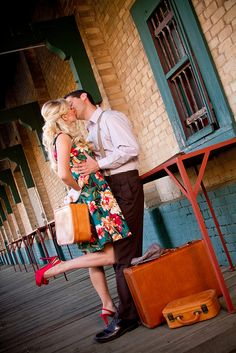 Vintage Engagement Pictures - Anderson, SC by seasons_photography, via Flickr