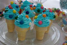 blue ıce cream