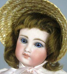 French Face Sonneberg Belton Doll ~  Jumeau Look