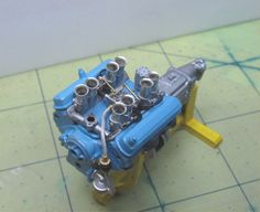Everyone shows you the beautiful body paint jobs. But the one thing you don't see often is the beautiful engines in them. This Post is dedicated. 1955 Chevy Bel Air, Robert Williams, Tech Deck, Plastic Model Cars, Car Magazine, Hobby Shop, Car Engine, Slot Cars, Model Building