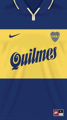 Boca Juniors kit home Soccer Kits, Soccer Games, Football Kits, Football Jerseys, Football Players, Argentina Football, Soccer Practice, Vintage Jerseys, World Football