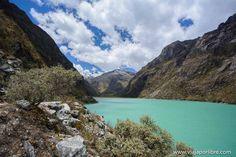 Las mágicas lagunas de Llanganuco