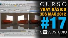 3ds Max + Vray Introductorio -17- Vray RT- Tiempore Real - Active shade.