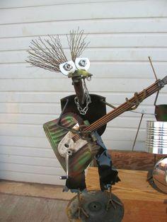 """scary guitar shovel bird """"dude"""""""