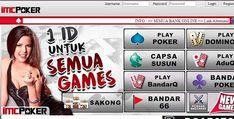 tampilan imcpoker Poker, Website, Game, Gaming, Toy, Games