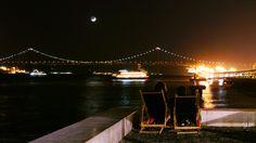Tagus river bridge view in #Lisbon #Portugal #Travel