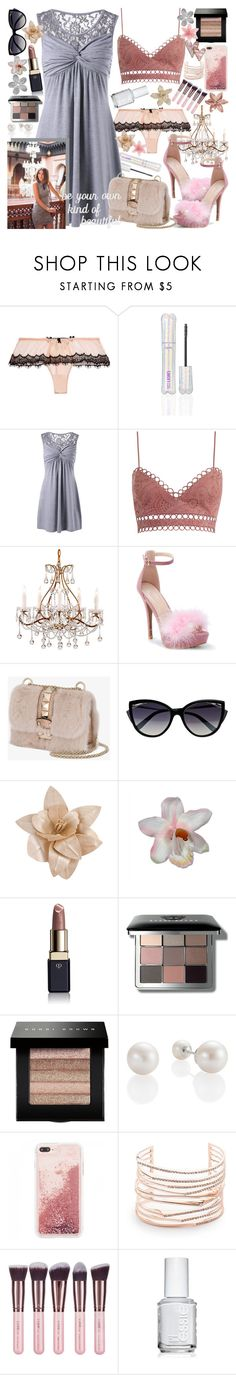 """""""Be Your Own Kind Of Beautiful"""" by luvmrb61899 ❤ liked on Polyvore featuring Mimi Holliday by Damaris, tarte, Zimmermann, WithChic, Valentino, La Perla, Forever 21, Hudson Jeans, Clé de Peau Beauté and Bobbi Brown Cosmetics"""