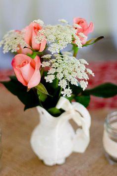 Our Wedding Details: Money & Decor & Photos Queen Anne's lace  Flowers