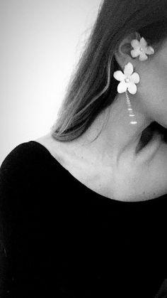 #jonidaripani Magnolia | Bridal #statementearrings, #coutureearrings #bridalearrings Jonida Ripani