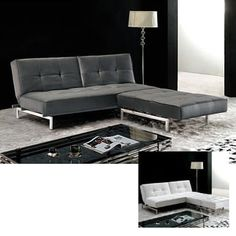 Shop for Furniture of America Canescent Modern Contemporary Sectional Sofabed. Get free delivery at Overstock.com - Your Online Furniture Shop! Get 5% in rewards with Club O! - 12325471