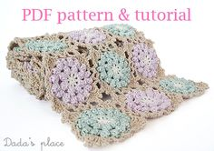 * This is a crochet pattern - not the finished item *    You will look great in this unique and easy to make scarf. This scarf can be an elegant