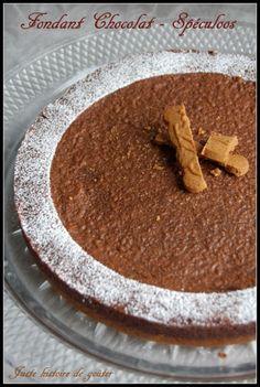 Juste histoire de goûter: Fondant Chocolat & Spéculoos