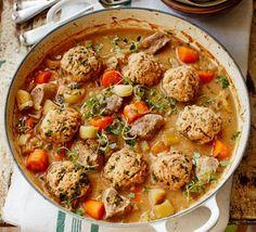Pork & apple stew with parsley & thyme dumplings 2016