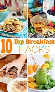 Top 10 Breakfast Hacks. Click for recipes: https://ooh.li/1d53c08