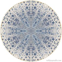 "Fine Art Nature Mandala Print ""Mandala No. 313"""
