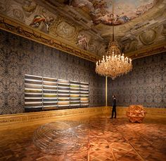 olafur eliasson infills viennese baroque palace with light and mirror works