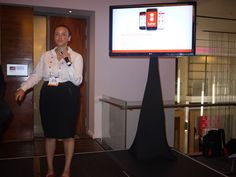 Nomusa, one of our Kenyan Haller team, spoke at the GSMA Mobile 360 Conference in Cape Town about the Haller Farmers App in October 2015.