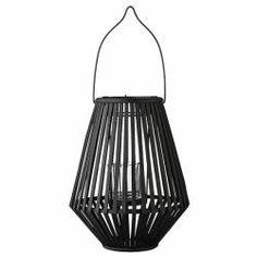 Bloomingville / Lucerna Bamboo Black 31cm Bella Rose, Danish Design, Outdoor Living, Bamboo, Ceiling Lights, Lighting, Pendant, Home Decor, Furniture