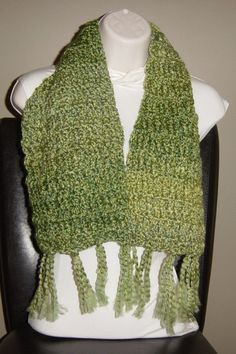 Scarf by Nanabearcrocheted on Etsy