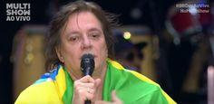 """Galdino Saquarema  DESABAFO: Cantor Fábio Jr tenta ressuscitar falando mal do PT  Brasileiro morando la fora e trabalhando pro tio Sam! cantando """"sou brasileiro, com muito orgulho"""""""