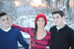 Ethan and Grayson Dolan, that's their sister