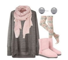 Perfect winter outfit. Comfy & cute