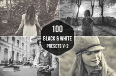 Check out 100 Black & White Lightroom Presets by Symufa on Creative Market