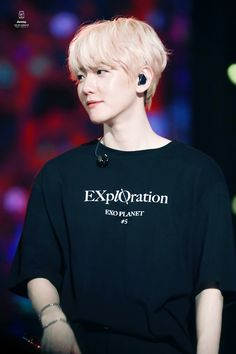 190928 Baekhyun EXplOration in Taipei Baekhyun, Exo Concert, Kpop Guys, Exo K, Chanbaek, Taipei, Korean Singer, Cool Bands, Boy Groups