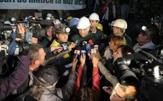"""Milă de """"minerii"""" vânzători din Roşia Montană: Guvernul României şi RMGC au anunţat în scris că """"minerii"""" din Roşia Montană au primit în mână 105 milioane de euro pentru proprietăţile lor. #rosiamontana"""