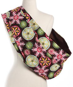 Take a look at this Pink Espresso Reversible Sling by Lucky Baby on #zulily today!