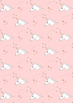 Free digital unicorn scrapbooking paper - ausdruckbares Geschenkpapier - freebie   MeinLilaPark