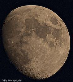 3/4 Moon Over Berkshires