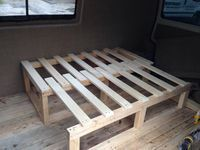 pull out slat bed - Google Search