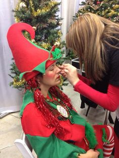Getting elfed up