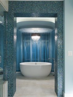 Love mosaic and the bathtub