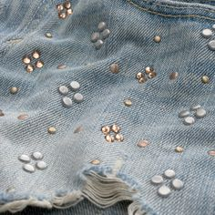 Womens Embellished High Rise Shorts | #ABERCROMBIEHOT | I would buy these but they are ungodly expensive sooo...